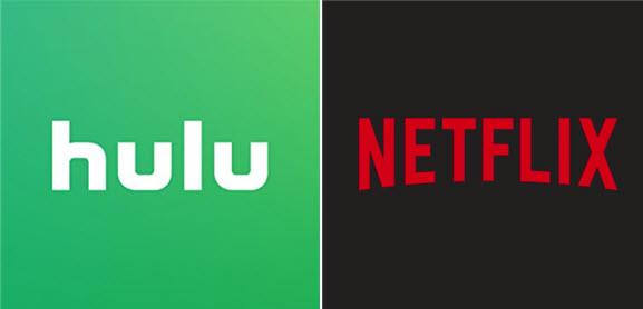 Hulu and Netflix