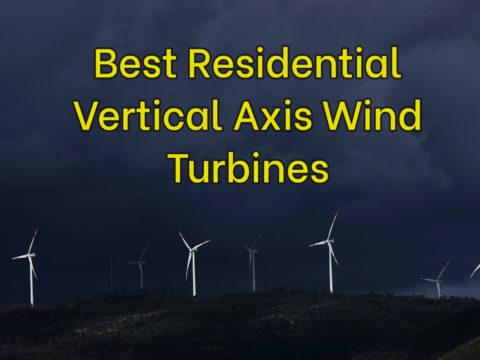 Best Residential Vertical Axis Wind Turbines