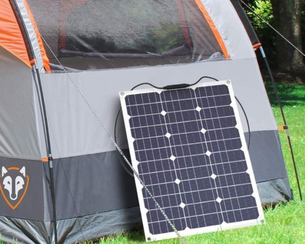GIARIDE 50W 18V 12V Off-Grid Solar Charger for RV