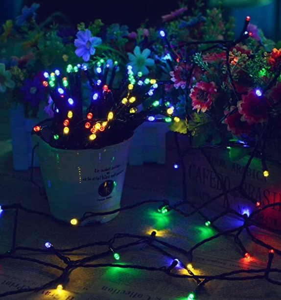Lalapao Solar String Lights for Christmas
