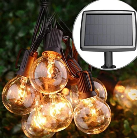 PERFECTDAY Solar String Lights for Garden