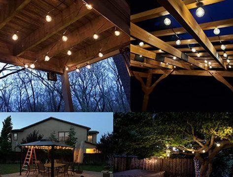 Sunlitec Solar String Lights Waterproof LED Indoor-Outdoor