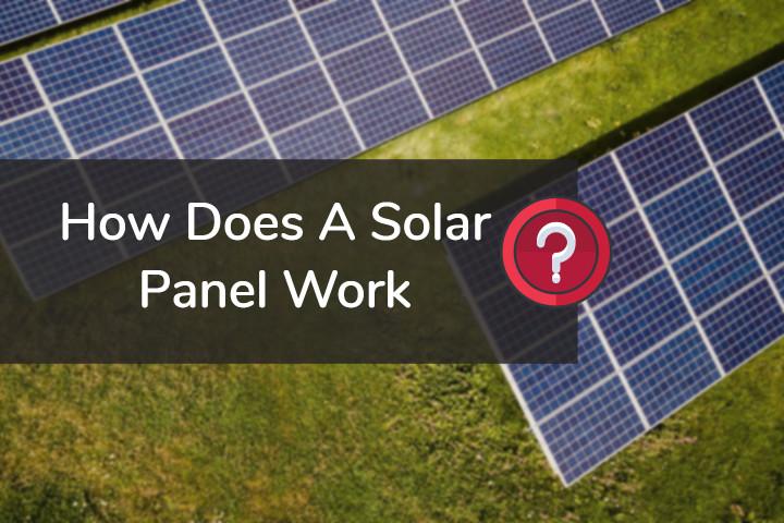 Solar Panel Working Principle