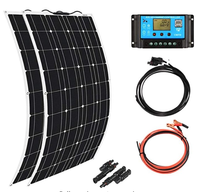 Xinpuguang 100W Flexible Solar Panel Review