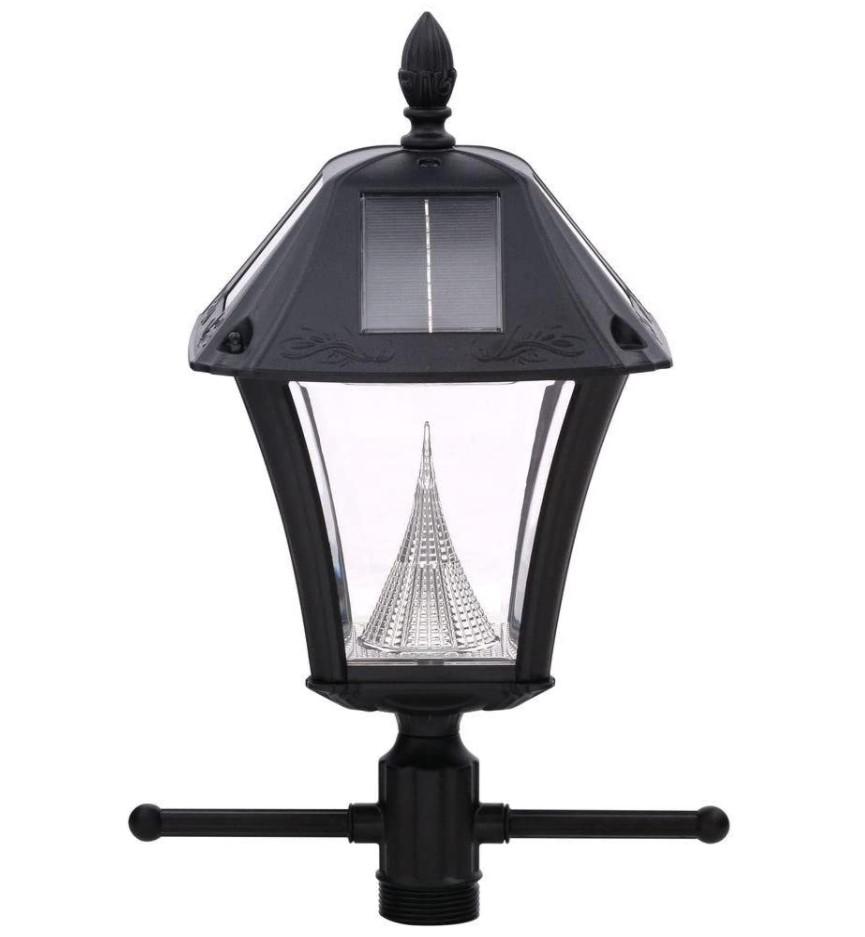 Gama Sonic Baytown II EZ Anchor Solar Lamp Post