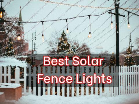 Best Solar Fence Lights