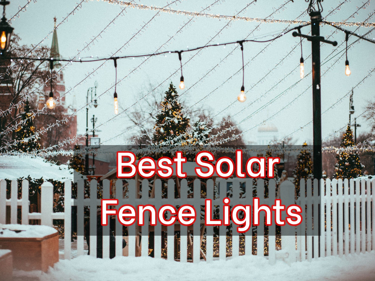 11 Best Solar Fence Lights – Reviews & Buying Guide