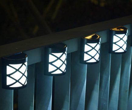 Gigalumi Outdoor Solar Fence Post Lights