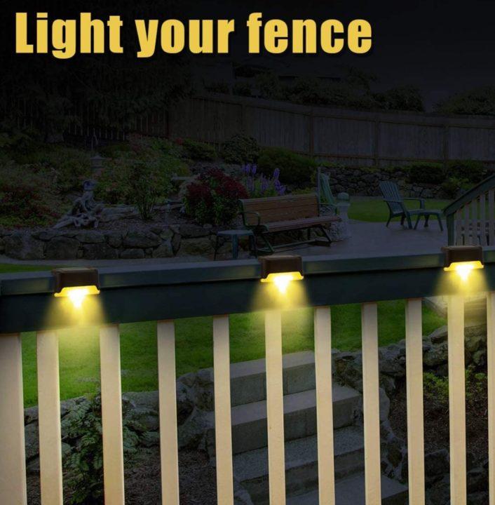 Gigalumi Solar Outdoor Fence Lights