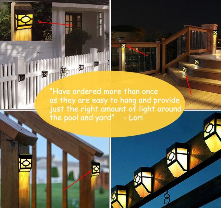 Greluna Solar Wall Outdoor Lights