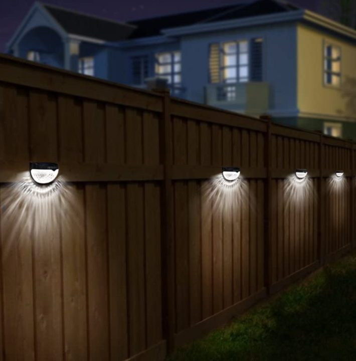 Othway Solar Fence Deck Lights