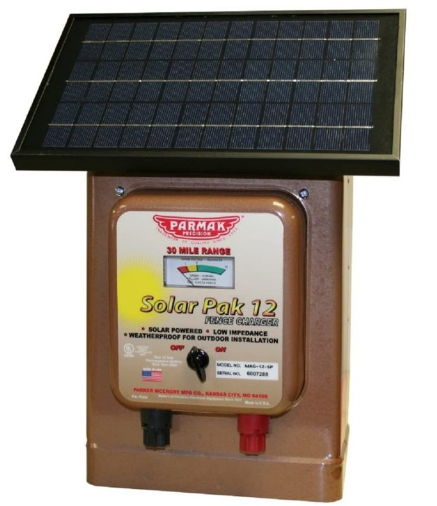 Parmak Magnum Solar Powered Electric Fence Charger